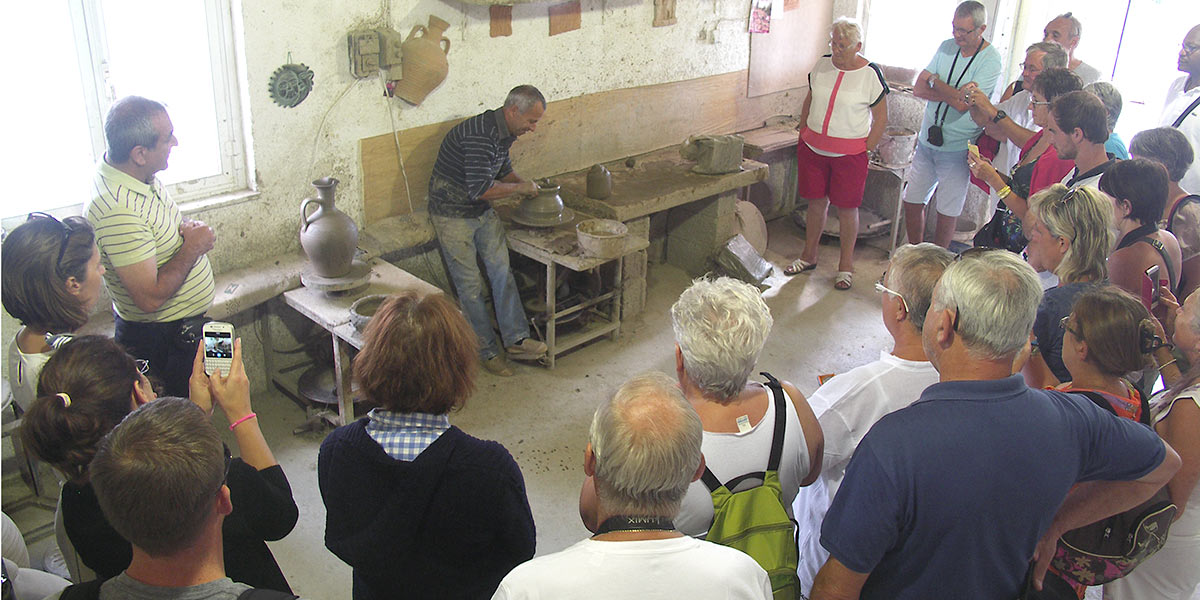 cretan pots creation